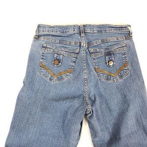 NYDJ  Cropped Capri Blue Jeans 12p 30 x 19
